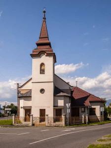 Kostol v Ondrašovej