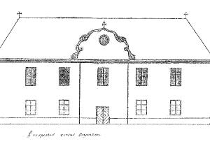 skica kostola