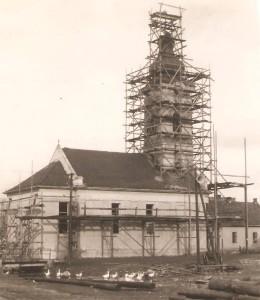 """Prestavba """"Zbierky""""v roku 1951"""