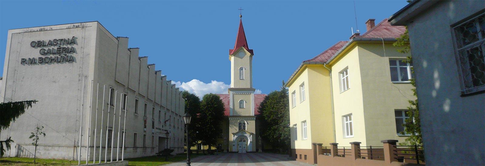 Hlavný kostol a fara